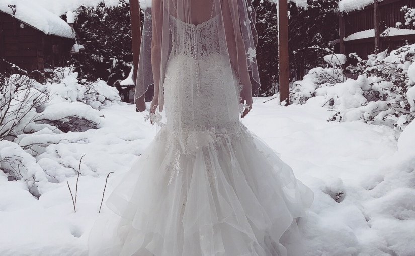Is it weird to wear your wedding dress twice?