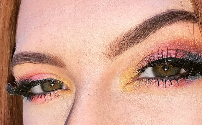 Makeup of the day: R A I N B OW