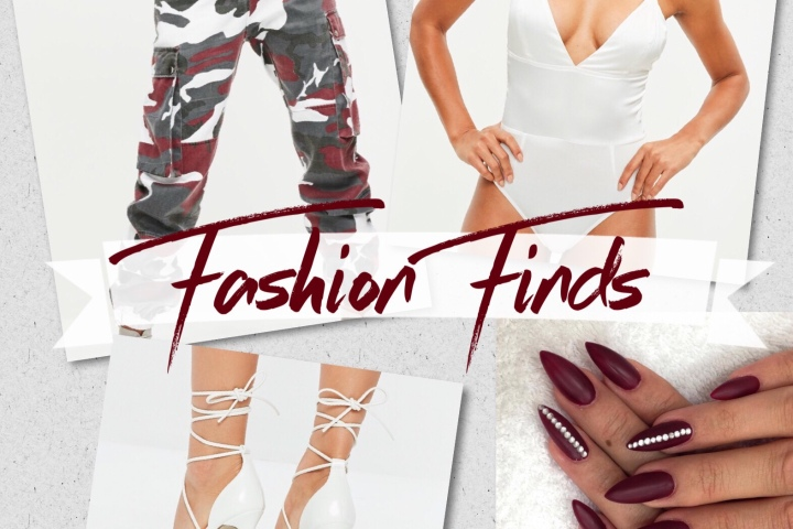 Fashion Finds 02: Boot camp at 8, club at 9!