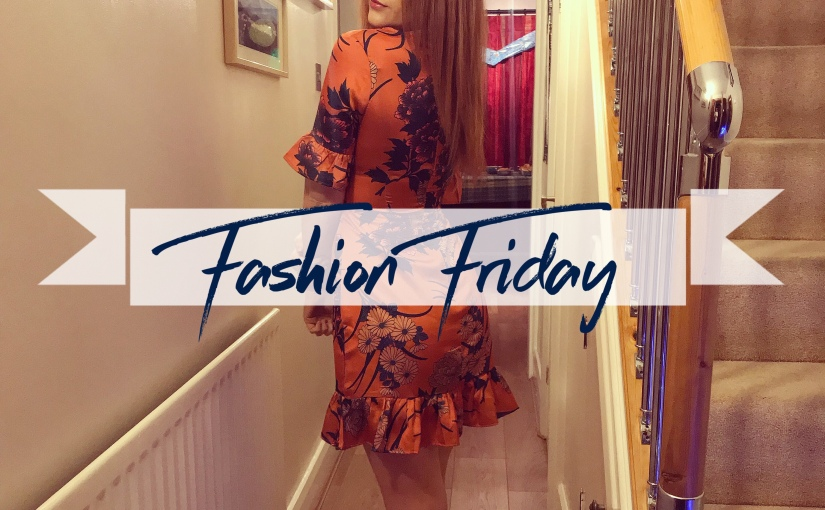 FASHION FRIDAY 01: 🍊