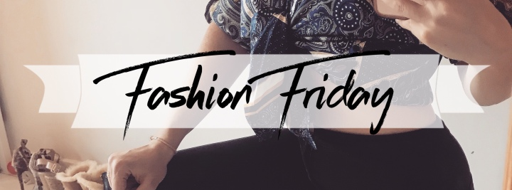 Fashion Friday 07: Saturday Vibes