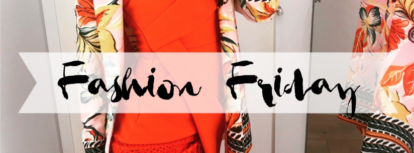 Fashion Friday: Orange 🍊