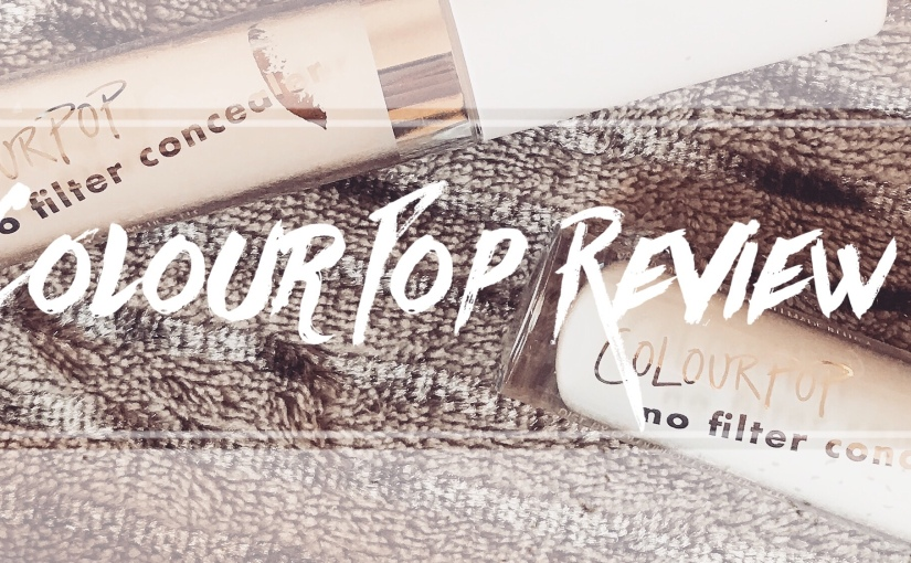 Review: Colour Pop No Filter Concealer